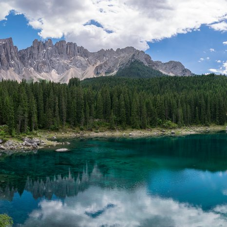 Lago di Carezza Grandangolo Latemar