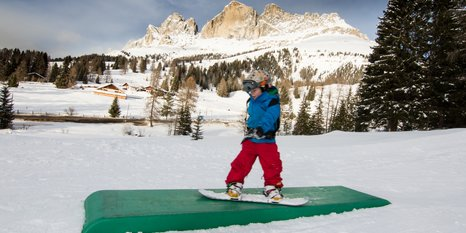 Carezza Italys first learning Snowpark